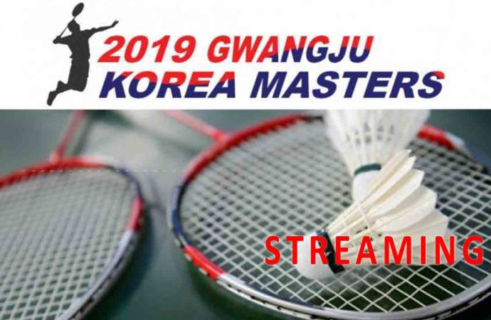 Link Live Streaming Perempat Final Badminton Korea Masters 2019 di HP
