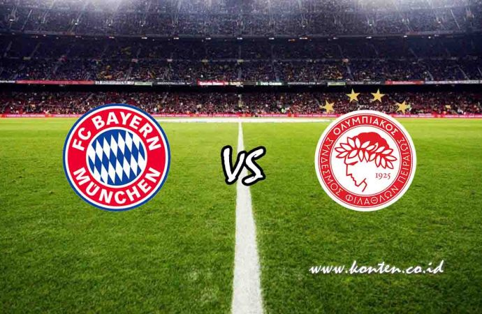 Link Live Streaming Bayern Munchen vs Olympiakos di HP