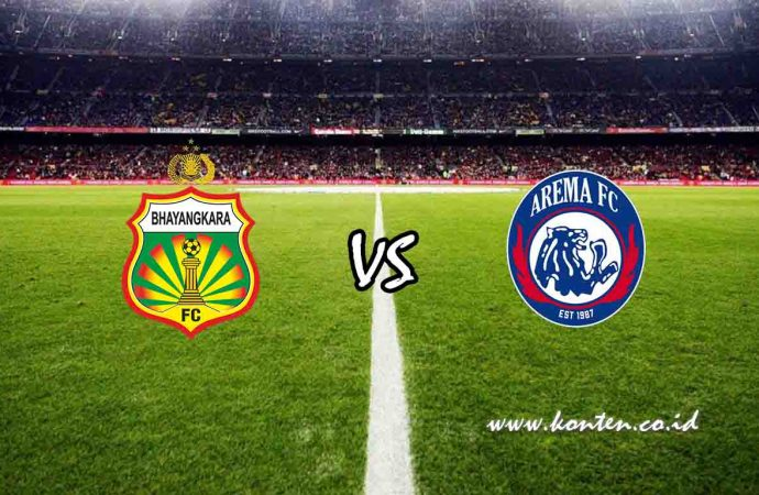 Link Live Streaming Bhayangkara FC vs Arema FC di HP