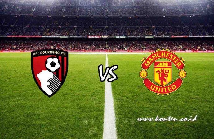 Link Live Streaming Bournemouth vs Manchester United di HP