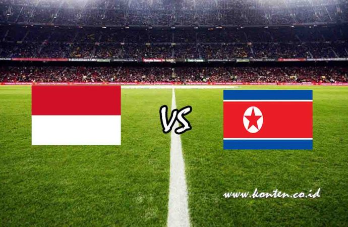 Link Live Streaming Indonesia vs Korea Utara di HP