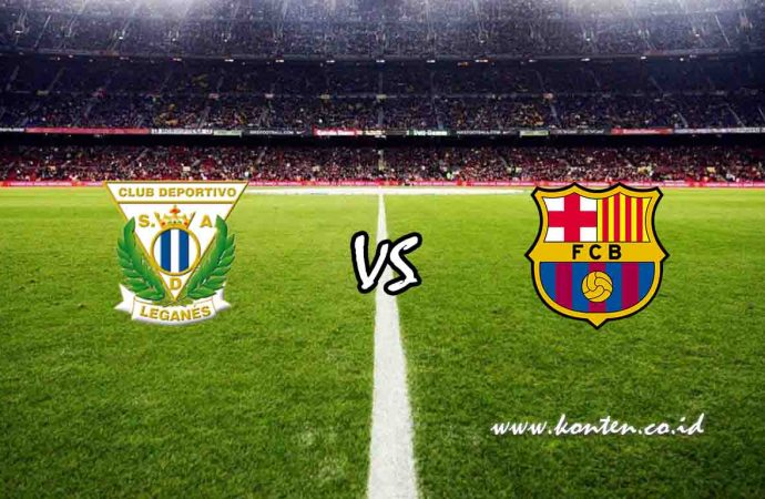 Link Live Streaming Leganes vs Barcelona di HP