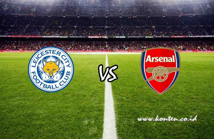Link Live Streaming Leicester City vs Arsenal di HP