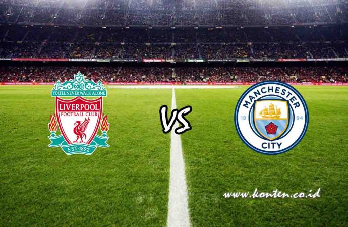 Link Live Streaming Liverpool vs Manchester City di HP