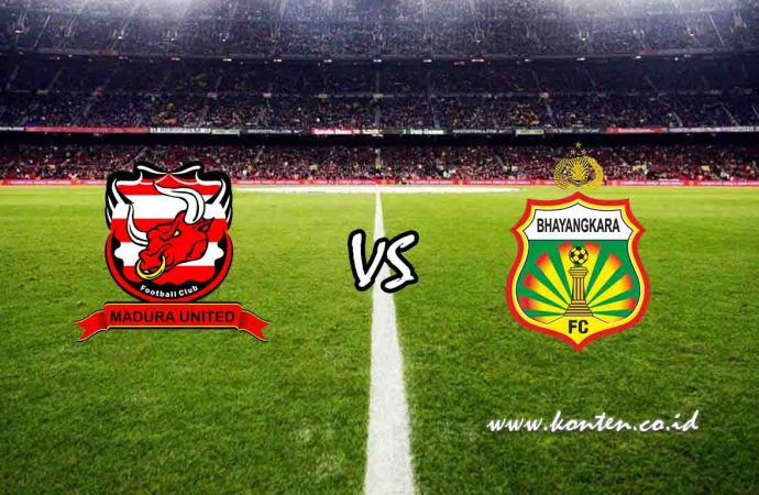 Link Live Streaming Madura United vs Bhayangkara FC di HP