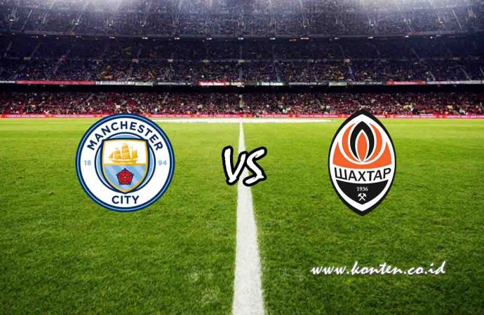Link Live Streaming Manchester City vs Shakhtar Donetsk di HP