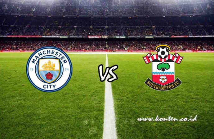 Link Live Streaming Manchester City vs Southampton di HP