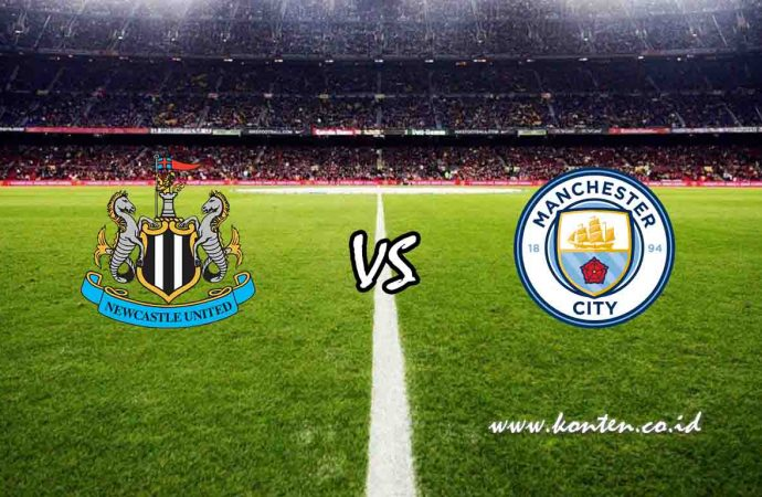 Link Live Streaming Newcastle United vs Manchester City di HP