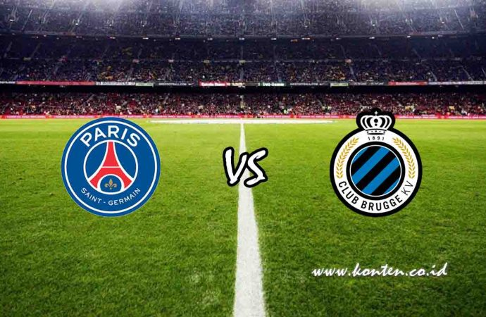 Link Live Streaming Paris Saint Germain vs Club Brugge di HP