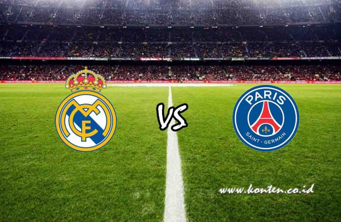 Link Live Streaming Real Madrid vs PSG di HP