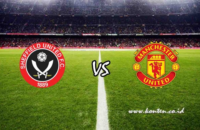 Link Live Streaming Sheffield United vs Manchester United di HP