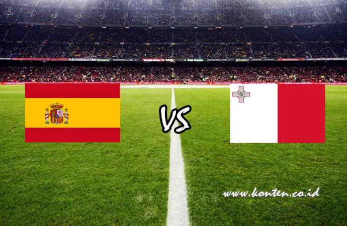 Link Live Streaming Spanyol vs Malta di HP