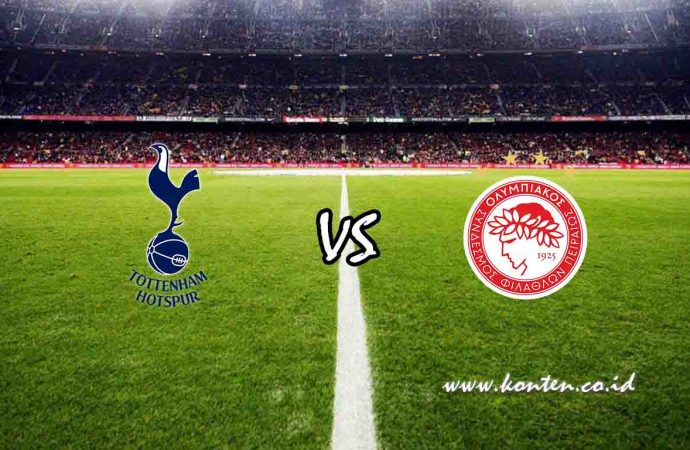 Link Live Streaming Tottenham vs Olympiakos di HP