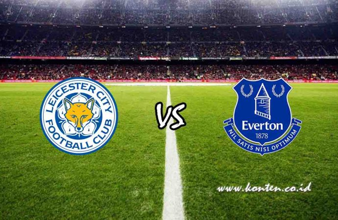 Link Live Streaming Leicester City vs Everton di HP