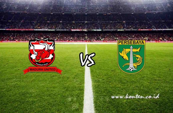 Link Live Streaming Madura United vs Persebaya Surabaya di HP