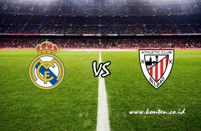 Link Live Streaming Real Madrid vs Athletic Bilbao, Senin (23/12/2019) di HP