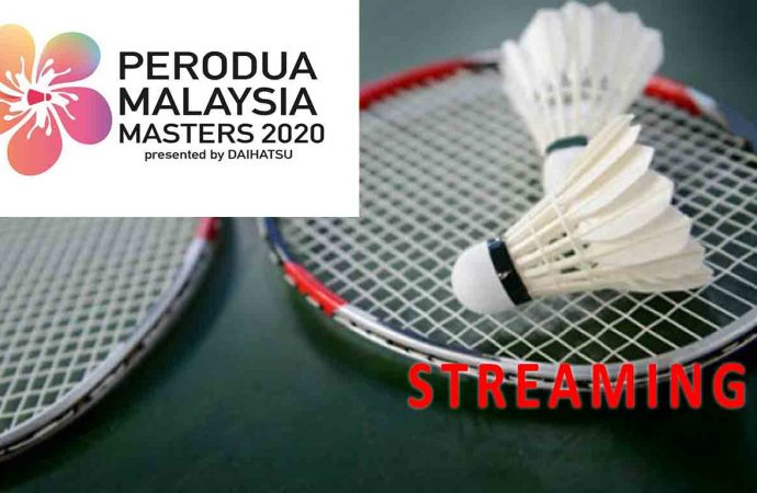 Link Live Streaming Final Badminton Malaysia Masters 2020 di HP